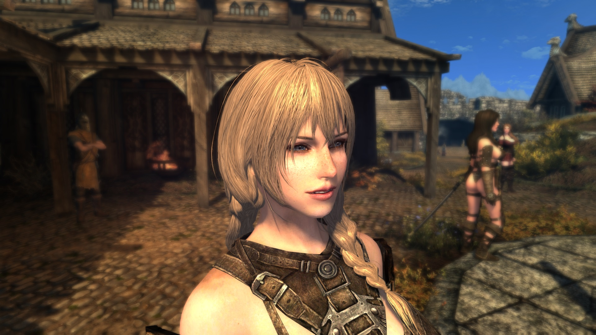 Skyrim SE  I want my hair texture to be realistic.